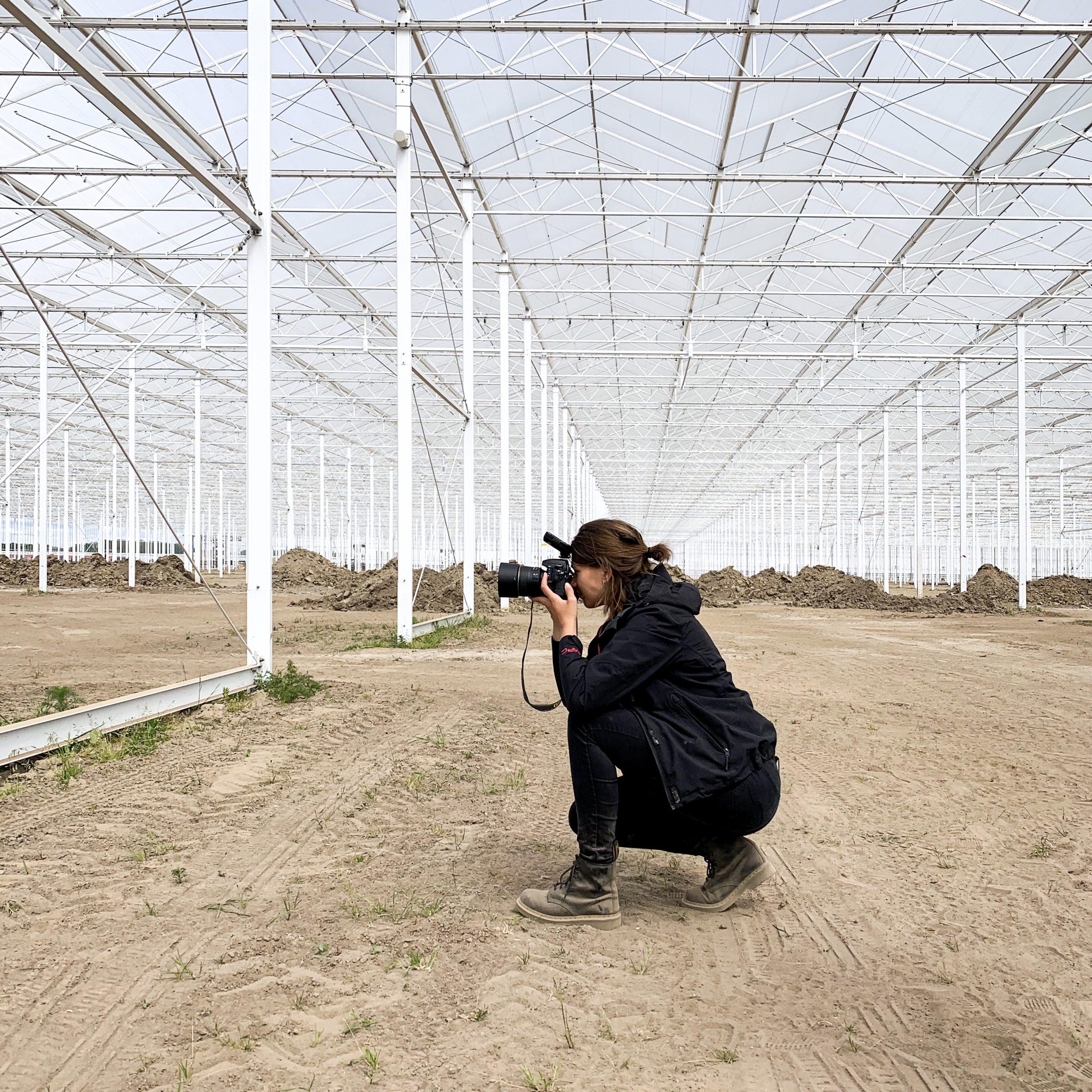 Tuinbouw kassenbouw fotografie